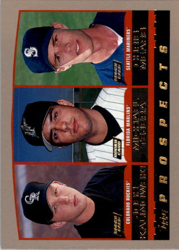 Photo of 2000 Topps #206 Kalinowski/Tejera/Mears RC