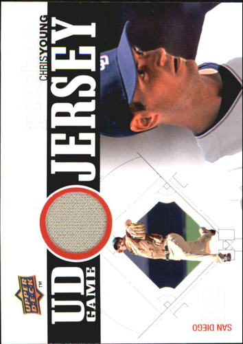 Photo of 2010 Upper Deck UD Game Jersey #CY Chris Young