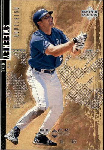 Photo of 2000 Black Diamond Rookie Edition Gold #28 Mike Sweeney