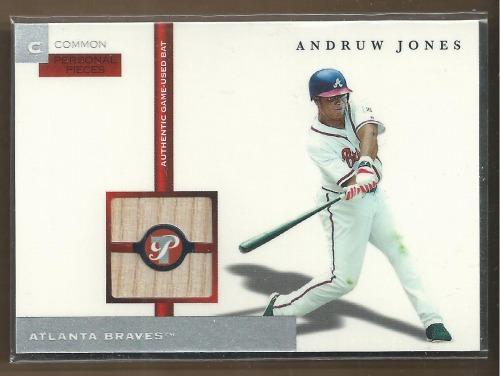 Photo of 2005 Topps Pristine Personal Pieces Common Relics #AJ Andruw Jones Bat