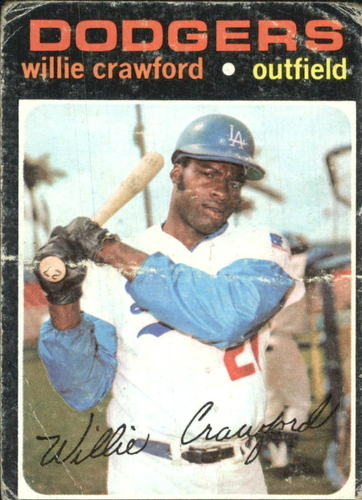 Photo of 1971 Topps #519 Willie Crawford