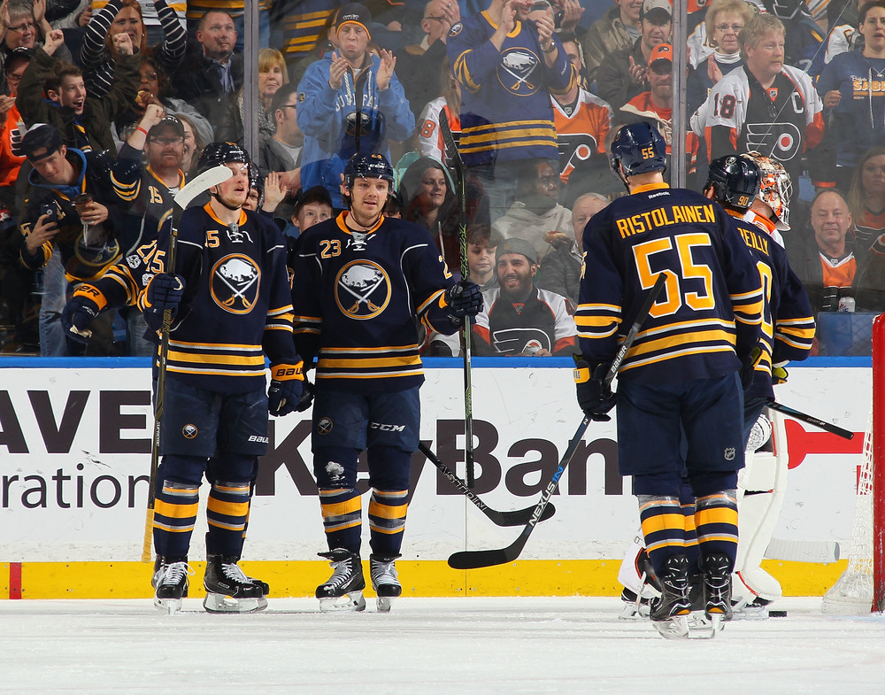 Buffalo Sabres vs. Ottawa Sentators 12-12-17, Sec 116, Row 1 Seats 17 & 18