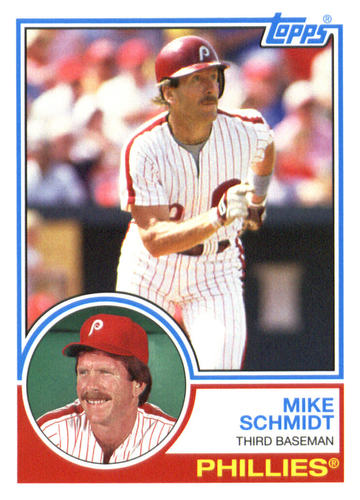 Photo of 2015 Topps Archives #283 Mike Schmidt