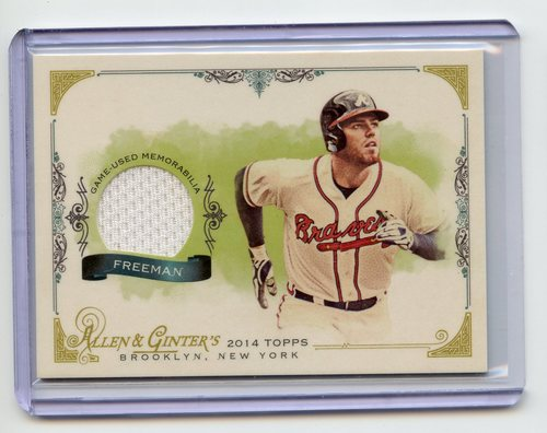 Photo of 2014 Topps Allen and Ginter Relics #FSRFF Freddie Freeman A