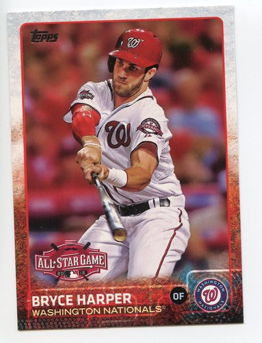 Photo of 2015 Topps Update #US397 Bryce Harper