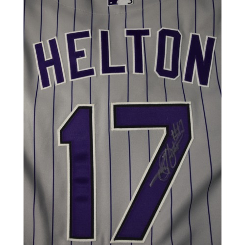 Photo of Rays Baseball Foundation Auction: Todd Helton Autographed Jersey - Size 50