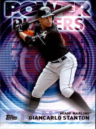 Photo of 2014 Topps Update Power Players #PPAGS Giancarlo Stanton