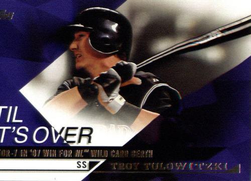 Photo of 2015 Topps Til It's Over #TIO3 Troy Tulowitzki