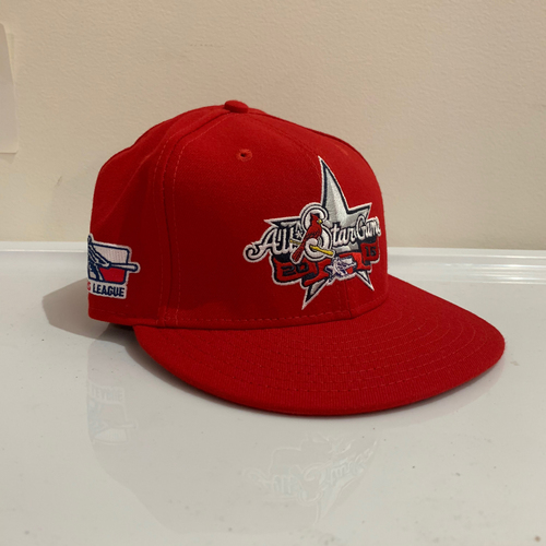 Photo of 2016 Texas League All Star Game -  Game Used Cap  - Eric Aguilera (Los Angeles Angels) Size - 7 -1/8