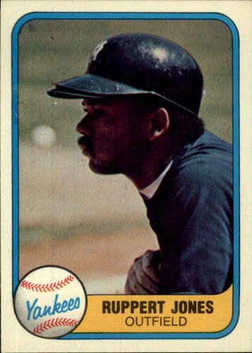 Photo of 1981 Fleer #101 Ruppert Jones