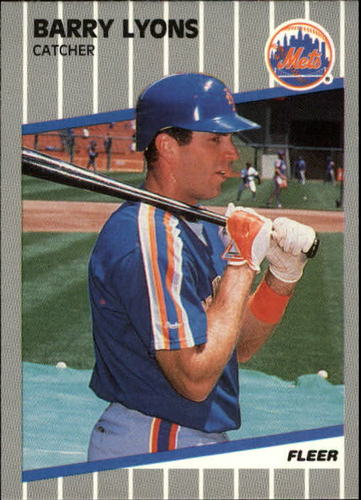 Photo of 1989 Fleer Update #101 Barry Lyons