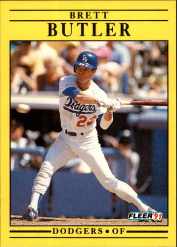 Photo of 1991 Fleer Update #91 Brett Butler