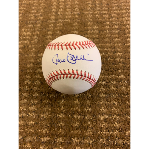 Photo of Rocco Baldelli Autographed Baseball