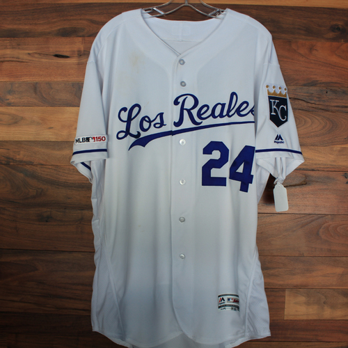 Photo of Game-Used Jersey: Mitch Maier (Size 48 - KC vs MIN 6/21/19)