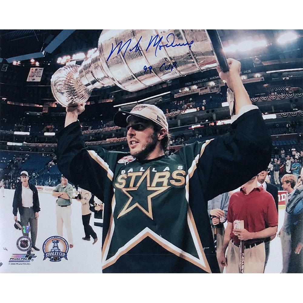 Mike Modano Autographed Dallas Stars 16X20 Photo w/99 CUP Inscription