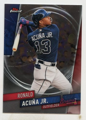 Photo of 2019 Finest #33 Ronald Acuna Jr.