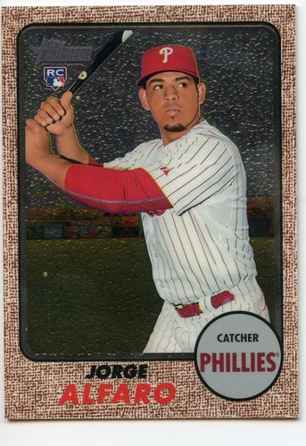 Photo of 2017 Topps Heritage Chrome #THC639 Jorge Alfaro