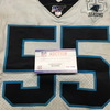 London Games - Panthers Bruce Irvin Game Used Jersey (10/13/2019) Size 42 With 25 Seasons Patch