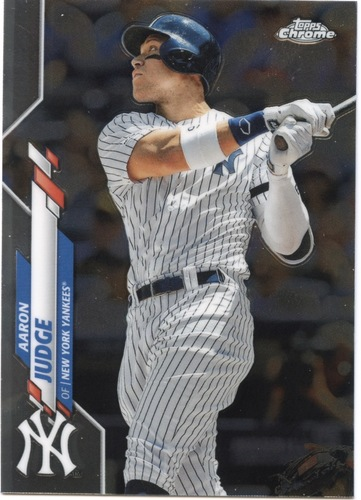 Photo of 2020 Topps Chrome #50 Aaron Judge
