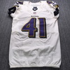 London Games - Ravens Anthony Levine Game Used Jersey (9/24/17) Size 38