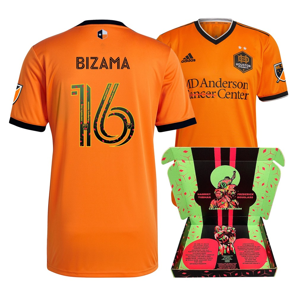 José Bizama Houston Dynamo FC Player-Issued & Signed