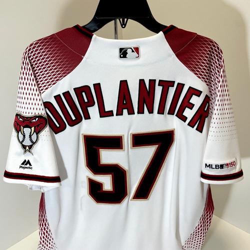 Photo of Jon Duplantier #57 Team Issued Jersey