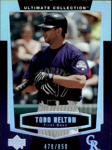 Photo of 2003 Ultimate Collection #41 Todd Helton