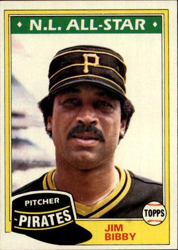 Photo of 1981 Topps #430 Jim Bibby