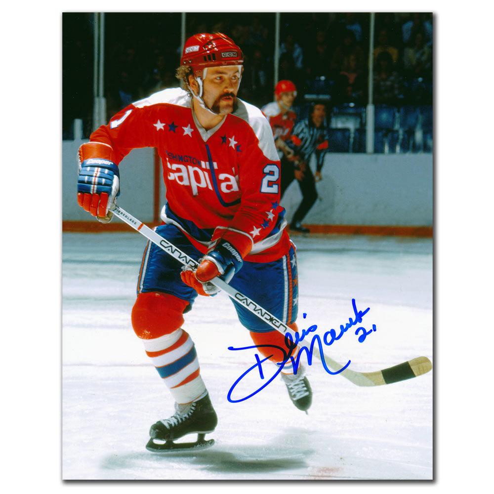 Dennis Maruk Washington Capitals RUSH Autographed 8x10