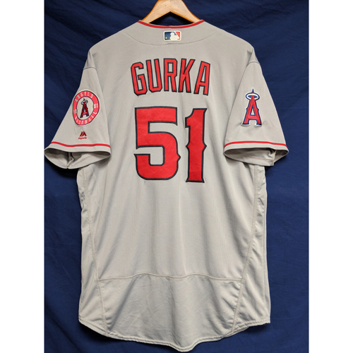 Photo of Jason Gurka Game-Used Road Jersey