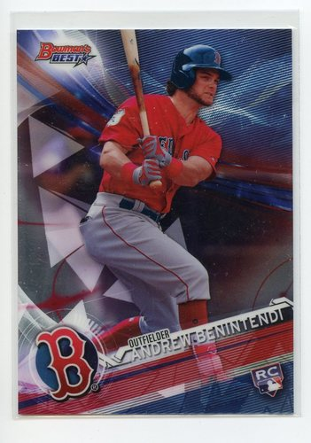 Photo of 2017 Bowman's Best #14 Andrew Benintendi RC