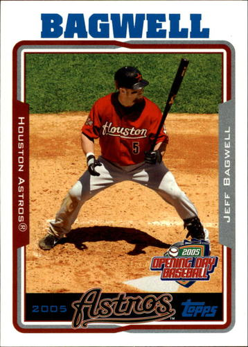 Photo of 2005 Topps Opening Day #107 Jeff Bagwell