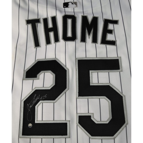 Photo of Rays Baseball Foundation Auction: Jim Thome Autographed Jersey - Size 52