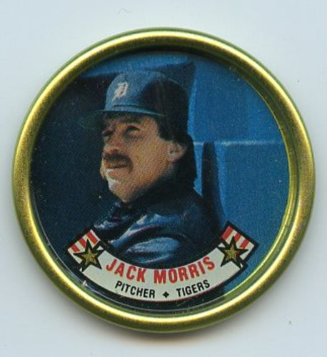 Photo of 1988 Topps Coins #21 Jack Morris