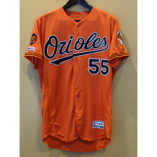 Photo of Dillon Tate - Orange Alternate Jersey: Game-Used