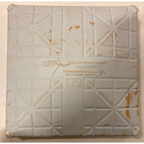 Photo of 2019 NLDS Game Used Base - Third Base Used During 2nd Inning - 10/9/19 - Cardinals Clinch