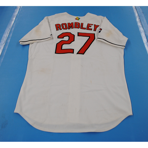 Photo of 2006 Inaugural World Baseball Classic: Danny Rombley Game-worn Team Netherlands Home Jersey