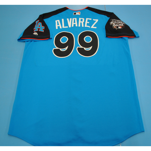 Game-Used Batting Practice Jersey - 2017 All-Star Futures Game - Yadier Alvarez - Size 46 - Only Worn During Batting Practice