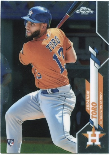 Photo of 2020 Topps Chrome #56 Abraham Toro RC