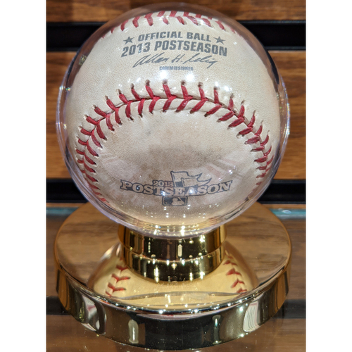 2013 ALCS Game 1 October 12, 2013 Red Sox vs. Tigers Game Used Baseball