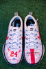 My Cause My Cleats - Patriots Brian Belichick custom shoes supporting - Travis Roy Foundation - Cleats will be autographed