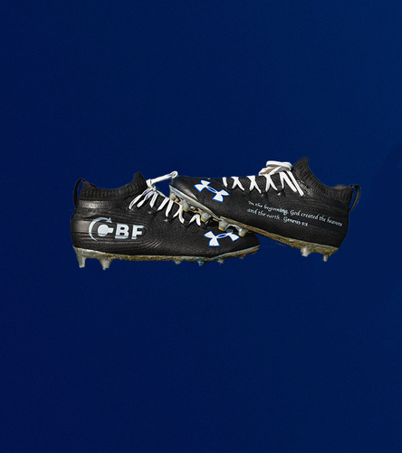 Photo of My Cause My Cleats - Darious WIlliams Custom Cleats - Benefitting CBF Ministries