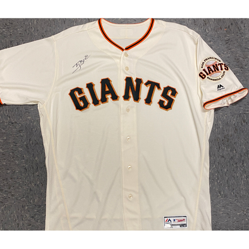Photo of Giants Community Fund - Autographed Jersey signed by #50 Ty Blach - Size 50