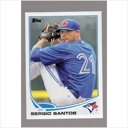 Photo of 2013 Topps #363 Sergio Santos