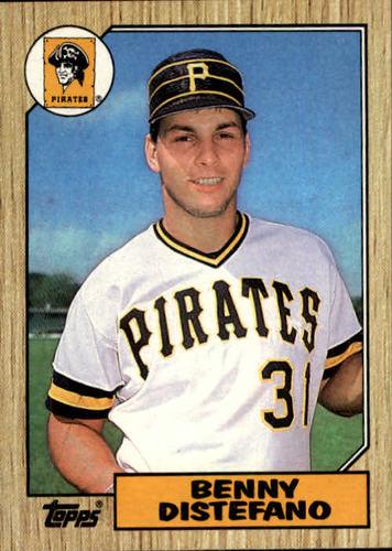 Photo of 1987 Topps #651 Benny Distefano