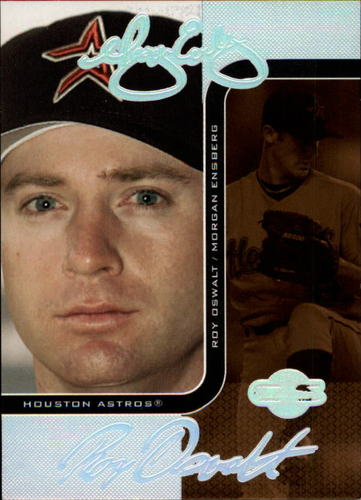 Photo of 2006 Topps Co-Signers Changing Faces Silver Bronze #85B Morgan Ensberg/Roy Oswalt