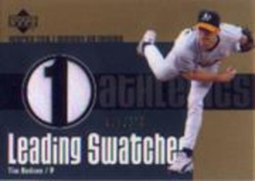 Photo of 2003 Upper Deck Leading Swatches #THU Tim Hudson Jersey