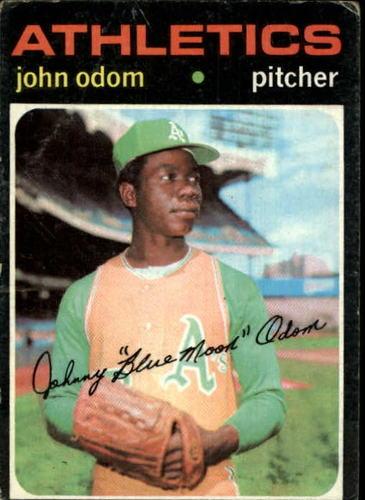 Photo of 1971 Topps #523 John Odom