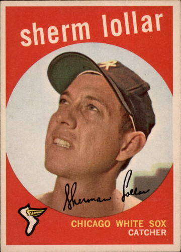 Photo of 1959 Topps #385 Sherm Lollar