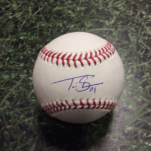 Travis Shaw Autographed Baseball